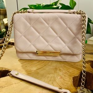 Kate Spade ♠️ Quilted Blush Pink Handbag